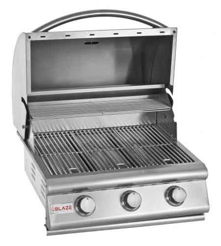 "Preview Thumbnail 2 - 3 Burner Blaze Grill 25"" - Sequoia Building Supply"