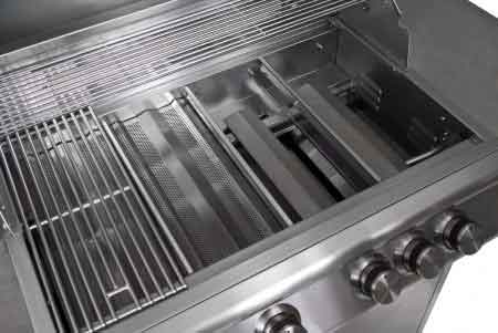"Preview Thumbnail 3 - 3 Burner Blaze Grill 25"" - Sequoia Building Supply"