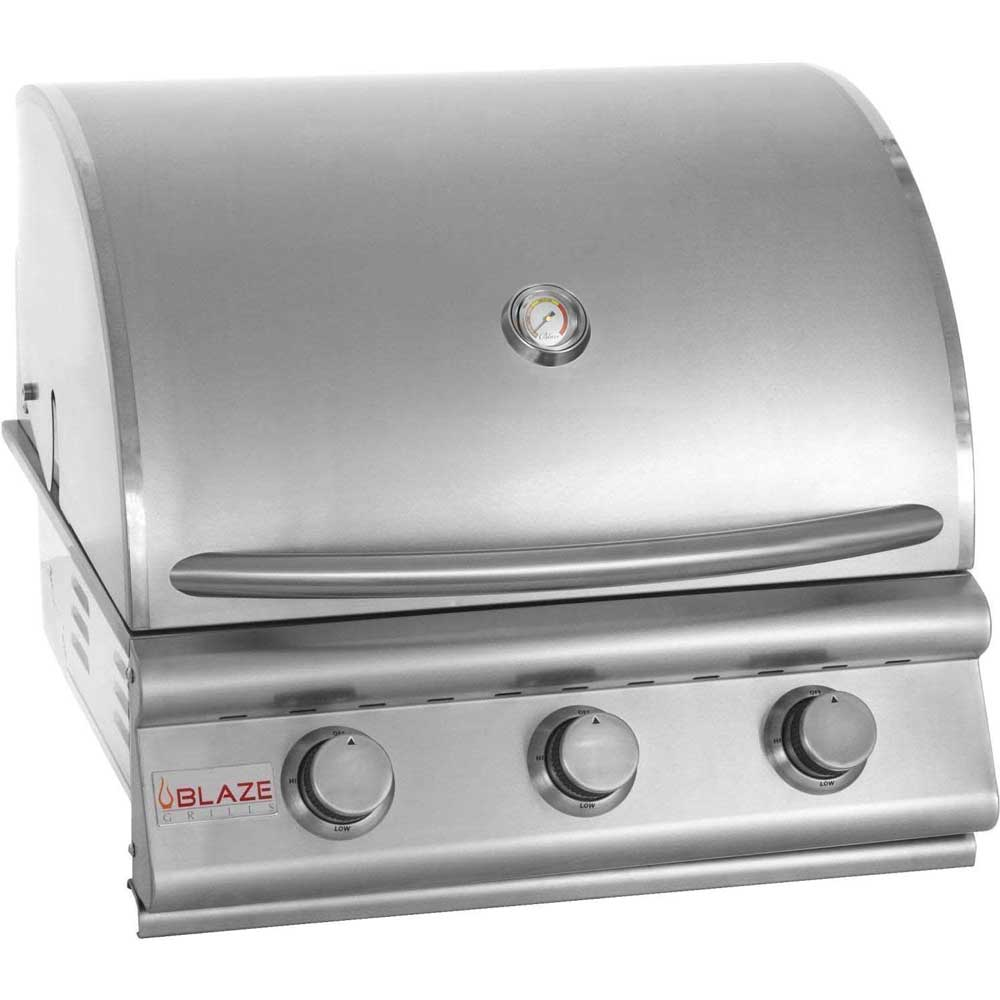 "Preview Thumbnail 1 - 3 Burner Blaze Grill 25"" - Sequoia Building Supply"